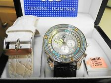 Techno com by kc gentlemen's watch with 2.75 ctw diamonds
