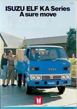 1980 Isuzu Elf KA Pickup Truck Brochure wq1698-JOZI3Z