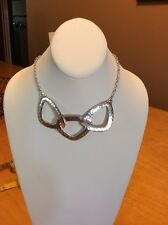 Lucky Brand Silver Statement Necklace $29.50 Mac12 #L88