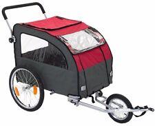 Large Dog Bike Pushchair Trailer Pet Carrier Cat Bicycle Stroller Jogging Kit