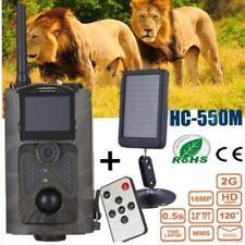 Caméra de chasse + batterie de panneau solaire 16MP 1080P MMS MMS SMTP 2G