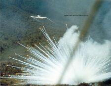 """U.S. Air Force Douglas A-1E Skyraider at work 8""""x 10"""" Vietnam War Photo #35"""