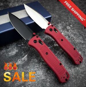 535 Folding Knife S30v Blade Tactical Camping EDC Pocket Survival Nylon Handle✅