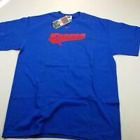 Vintage 1990s University Of Kansas Jayhawks Nike Team T-Shirt NWT