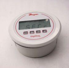 Dwyer Dm 1102 Digital Differential Pressure Gauge 5 Dia 0 25wc Tested