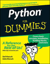 NEW Python For Dummies by Stef Maruch