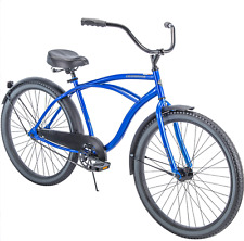 "Huffy 26"" Cranbrook Men's Beach Cruiser Comfort Bike, Blue brand new in box"
