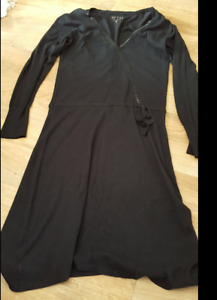 """ROBE """"GUESS"""" NOIR TAILLE XL TBE"""