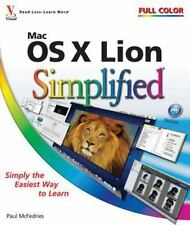 Mac OS X Lion Simplified, McFedries, Paul, 1118022408, Book, Acceptable