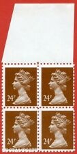 1993 ( SG. X969 ). 24p chestnut FORGERY. A superb UNMOUNTED MINT top margi B8907