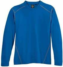 River's End Long Sleeve Crewneck Tee  Athletic   Tops - Blue - Mens