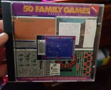50 Family Games Volume 1 (Win95) -  PC GAME - FREE POST