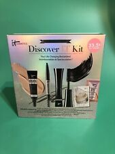 It Cosmetics Discover It Kit 5 pcs Sample Set Limited Edition New In Box