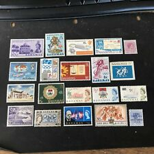 BAHAMAS, SCOTT # PKG # 2 20 INDIVIDUAL STAMPS GREAT FOR STARTERS MNH/MH
