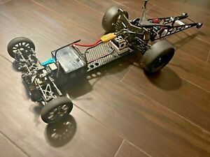 BULLET Chassis LOSI 22 Rear Motor 1/10 scale drag race carbon fiber conversion