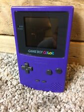 Nintendo Gameboy Colour Purple Console Tested