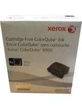Xerox 108R01017 Black ColorQube 8900 Ink 6 Pack Genuine OEM