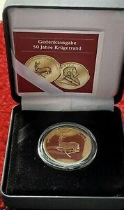 Krügerrand 1/10 oz Gold Goldmünze Polierte Platte Etui - Auflage 475