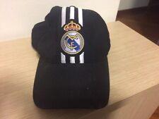 Cappello Cappellino Real Madrid Adidas Nero E Bianco Originale