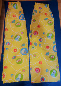 Kids Curtains In the Night Garden. Good Used Condition