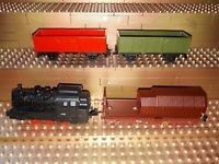 Siku Spielzeug Lokomotive Güterzug Dampflok Güterwagen Wagon 1664 1657 1072