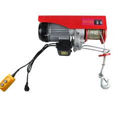 HOT! 100/200 kg Treuil à Câble Electrique de moteur  Treuil palan 510W 220V DHL