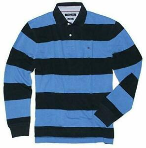 Tommy Hilfiger Men's Long Sleeve Classic Fit Polo Shirt Many Sizes  New U30