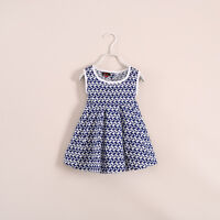New Beautiful Girls Summer Dress Size: 1, 2