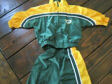 GREEN BAY PACKERS 12 Months Jacket & Pants SWEAT SUIT Lined Polyester Infant
