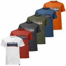 Jack Wolfskin Mens 2019 Slogan T Slogan Lightweight Cotton T-Shirt 36% OFF RRP