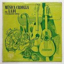 Música Criolla Ladi Y Su Conjunto Ladisla Martinez ICP 1967? Puerto Rico