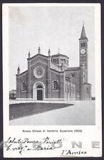 LECCO VERDERIO SUPERIORE 02 Cartolina viaggiata 1906