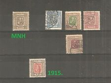 Iceland  -1907. , different stamps