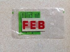 CALIFORNIA LICENSE PLATE MONTH REGISTRATION STICKER - FEBRUARY -NEW -NEVER USED