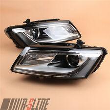 Fit AUDI Q5 13-17 Eur Xenon Headlamp Convex lens Lamp Assembly Composite L+R New