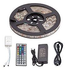 LED Strip Streifen Band +44Key Fernbedienung +Netzteil 5m 5050 300 LED RGB IP65