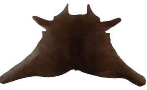 """Cowhide Rugs Calf Hide Cow Skin Rug (26""""x30"""") Light Brown CH8240"""