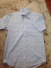 Kickers men's short sleeved blue shirt, small