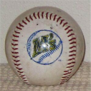Seattle Mariners M's Logo Baseball