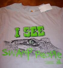 I SEE SWAMP PEOPLE T-Shirt SMALL NEW w/ TAG History Channel