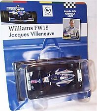 Williams Fw19 Jacque Villeneuve 1997 1-43 Scale in Carded BLISTER