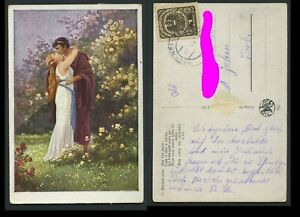 Künstler Karte, C. Benesch, gelaufen, HÄRING bei KIRCHBICHL -> ST. JOHANN  #h577
