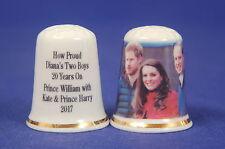 How Proud Diana's zwei Boys 20YRS auf William,Harry & Kate China Fingerhut B /
