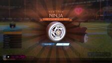 Liga de cohetes PS4-Ruedas limitada de bonificación de Ventilador Ninja RLCS