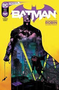 Batman #106 (2021) DC A CVR Damian Miracle Molly 1st APP 03/03/2021