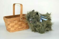 Wizard Of Oz Toto in Basket Plush Rubies Costume
