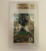 2011 Topps Chrome #205 Chris Sale BGS 9.5 Rookie Card Chicago White Sox