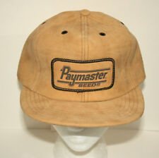 VTG Paymaster Seeds Agriculture Farming Baseball Cap Hat New NOS Early 1980s