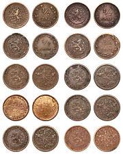 Netherlands - Lot ½ Cent 1891, 1894, 1903, 1906, 1909, 1911,1912,1914 1915,1916