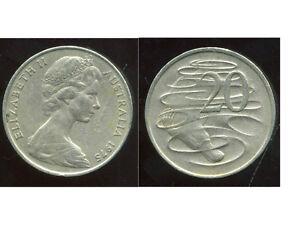 AUSTRALIE 20 cents 1975